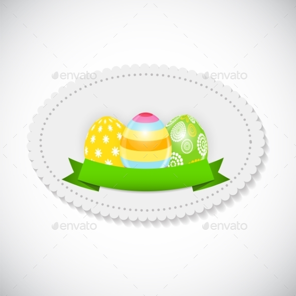 GraphicRiver Easter Egg Background 10883492