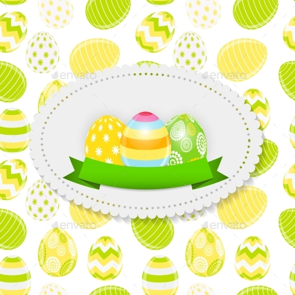 GraphicRiver Easter Egg Background 10883547