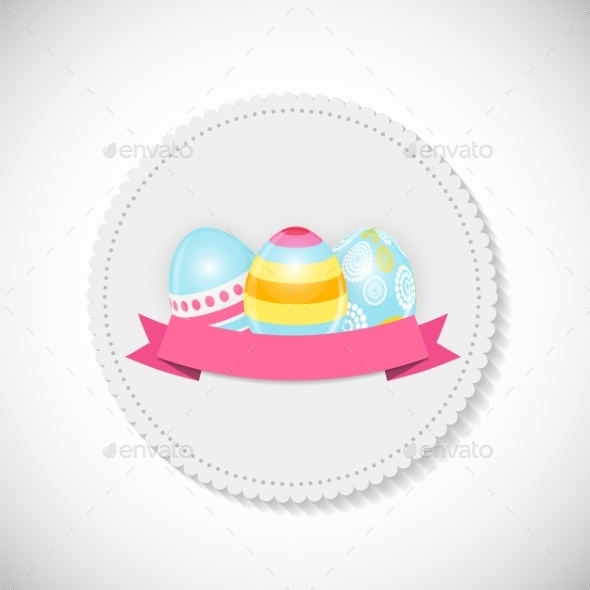 GraphicRiver Easter Egg Background 10883936