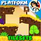 Platform Tileset Game Assets 05 - GraphicRiver Item for Sale