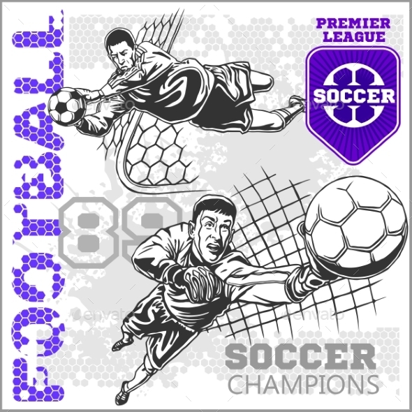 GraphicRiver Soccer and Football Players 10884586