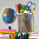 School Education Equipment Tools 12 - VideoHive Item for Sale