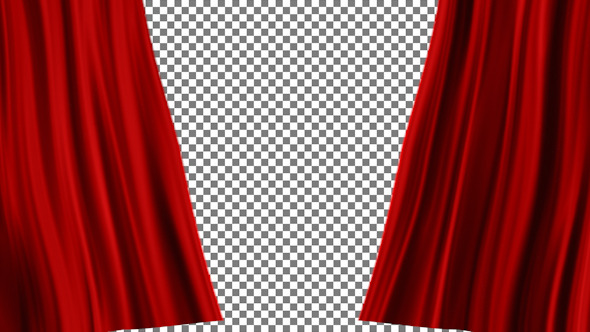 Red Curtains Open 2