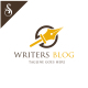 Writers Blog Logo - GraphicRiver Item for Sale