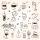 Coffee Doodles - GraphicRiver Item for Sale