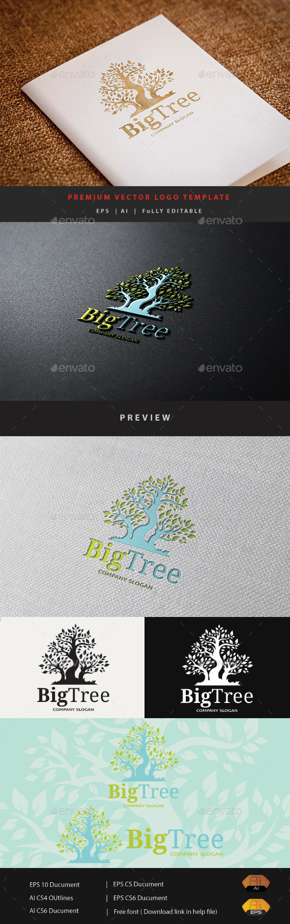 GraphicRiver Big Tree 10885354