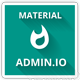 Admin.io -Responsive material Design Admin - ThemeForest Item for Sale