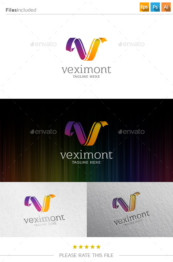 GraphicRiver Letter V Logo 10860832