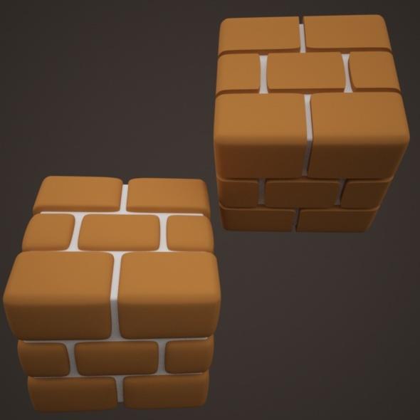 3DOcean Mario Brick 10886441