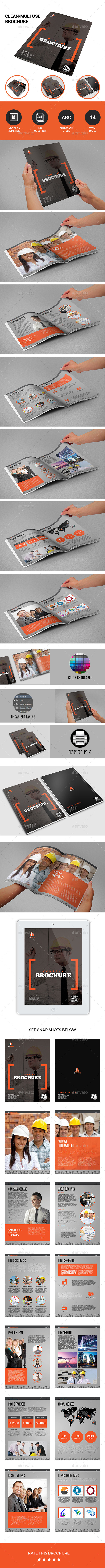 GraphicRiver Company Brochure 10811677