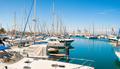 Panoramic view of Larnaca marina. Cyprus - PhotoDune Item for Sale