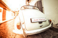 Antique wedding car with just married sign - PhotoDune Item for Sale