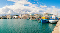 Fishing boats docked at newly constructed Limassol marina. Cyprus - PhotoDune Item for Sale