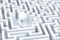 A desperate businessman in a maze - PhotoDune Item for Sale
