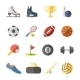 Sport Flat Icons - GraphicRiver Item for Sale