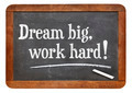 Dream big, work hard! - PhotoDune Item for Sale