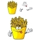 Cartoon French Fries - GraphicRiver Item for Sale