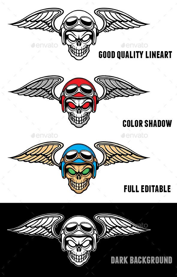 GraphicRiver Skull Rider 10889753