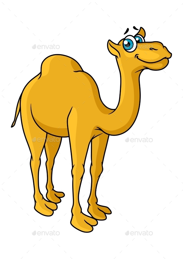 GraphicRiver Cartoon Camel Animal Character 10889851