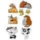 Set of Pet Icons - GraphicRiver Item for Sale