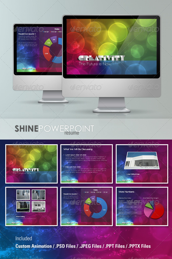 GraphicRiver Creativity Powerpoint Template 134922