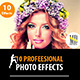 10 Professional Photo Effects - GraphicRiver Item for Sale