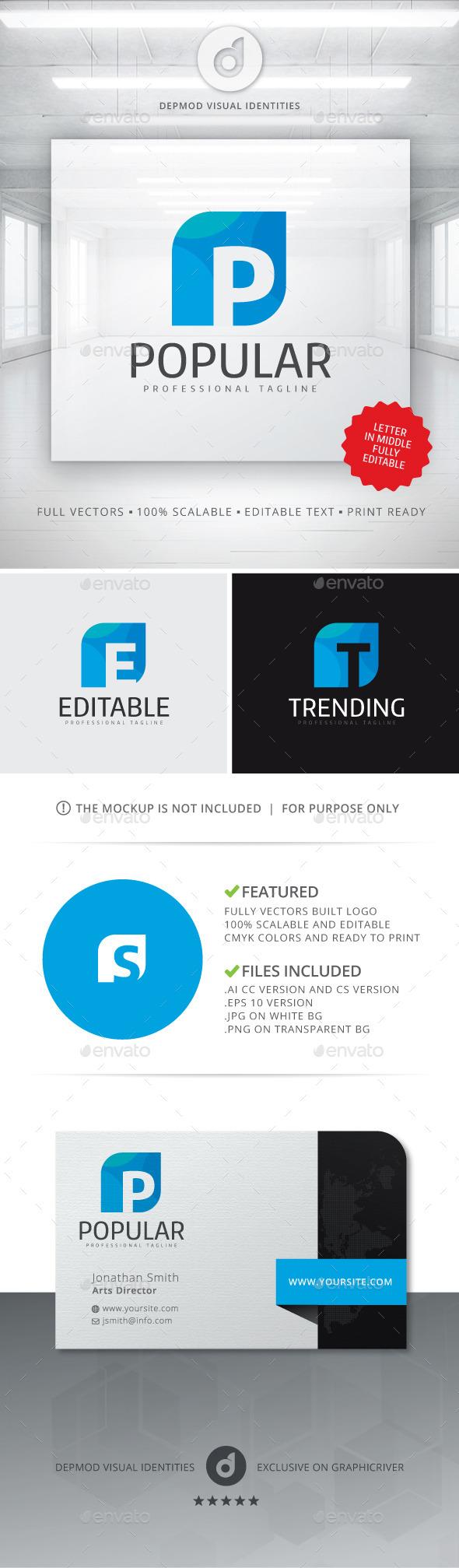 GraphicRiver Popular Logo 10890089