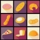 Collection of Bread Icons - GraphicRiver Item for Sale