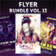 Flyer Bundle vol.13 - GraphicRiver Item for Sale