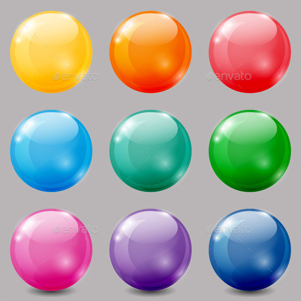 GraphicRiver Colored Balls 10891888