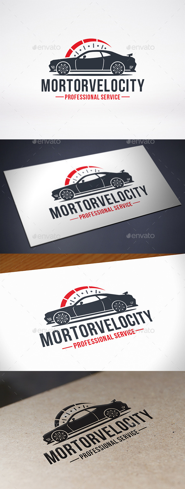 GraphicRiver Speed Car Logo Template 10892075