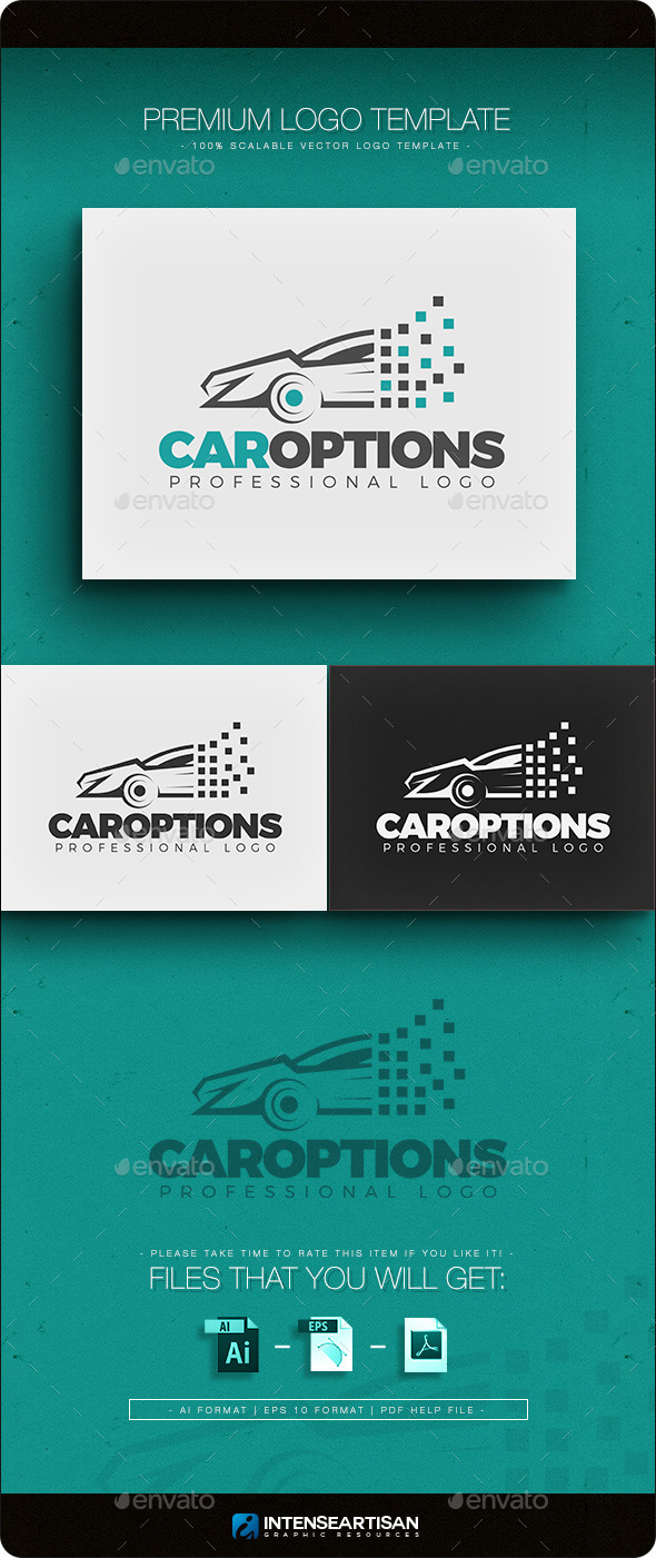 GraphicRiver Car Options Logo Template 10892079
