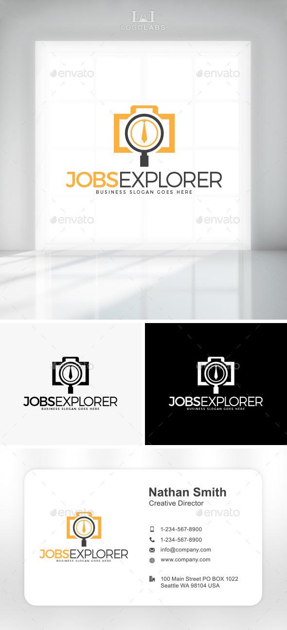 GraphicRiver Job Explorer Logo 10892118