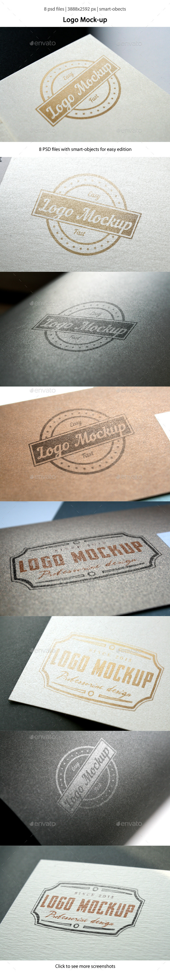 GraphicRiver Logo Mock-up 10892173