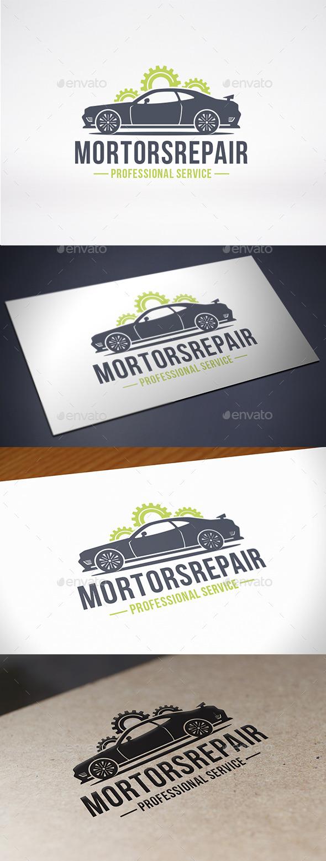 GraphicRiver Car Motor Factory Logo Template 10892192