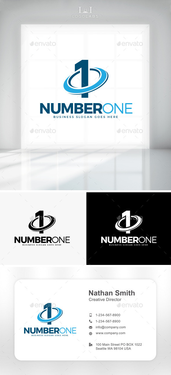 GraphicRiver Number One Logo 10892270