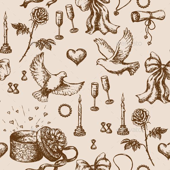 GraphicRiver Valentine Day Pattern 10892278