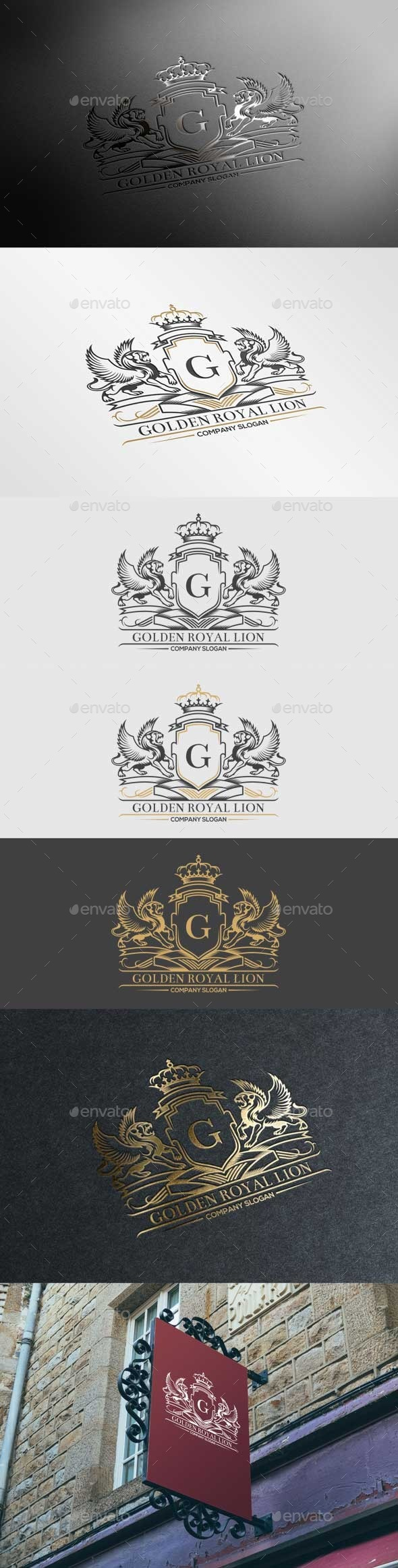 GraphicRiver Golden Royal Lion Vol.3 10892297