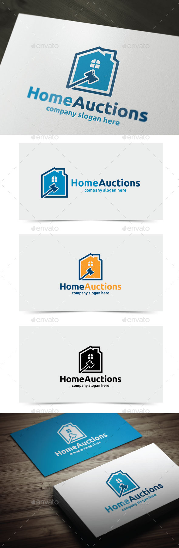 GraphicRiver Home Auctions 10892303