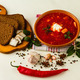 ukrainian borsch with chili pepper and garlic - PhotoDune Item for Sale