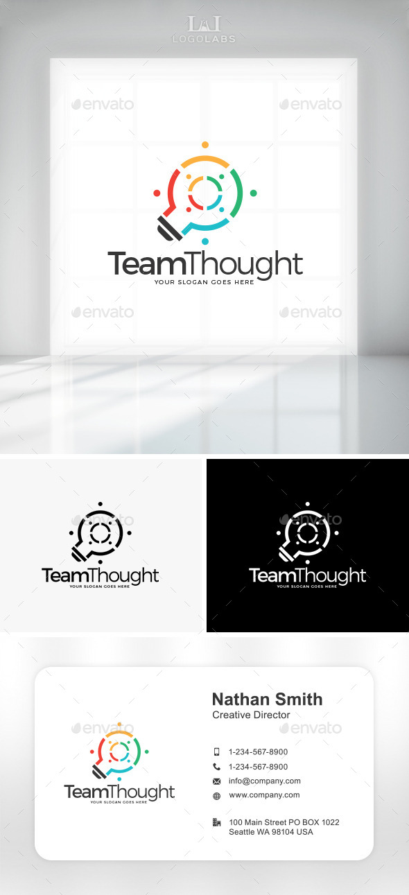 GraphicRiver Team Thought Logo 10892567