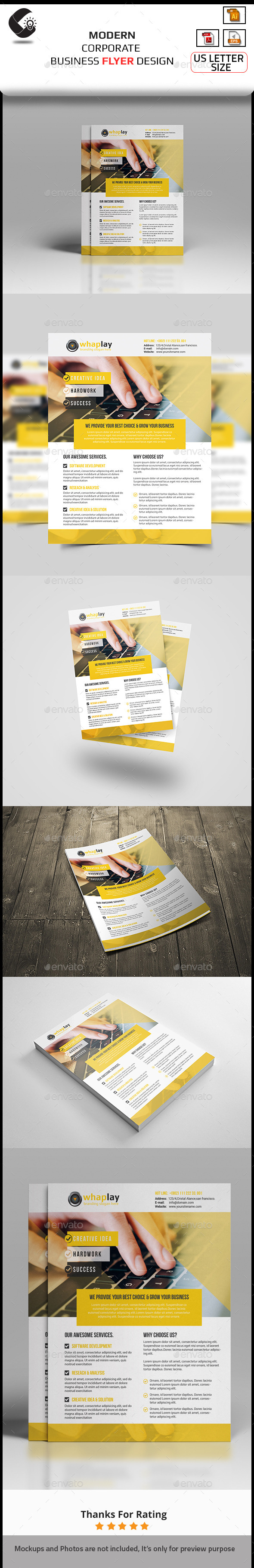 GraphicRiver Creative Corporate Flyer 10892614