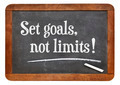 Set goals, no limits - PhotoDune Item for Sale