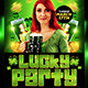 Lucky Party Flyer Template - GraphicRiver Item for Sale