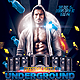 Underground Hip Hop PSD template Flyer - GraphicRiver Item for Sale