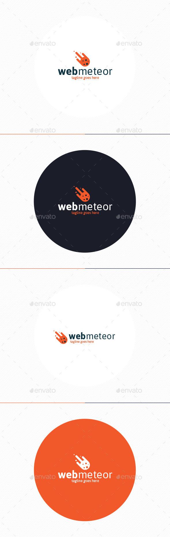 GraphicRiver Web Meteor Logo 10892897