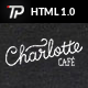 Charlotte - Premium Café Bistro HTML Template - ThemeForest Item for Sale