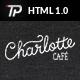 Charlotte - Premium Café Bistro HTML Template