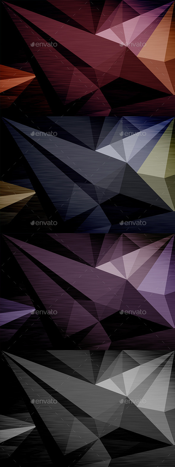 GraphicRiver 8 Polygon Backgrounds Pack 10893103