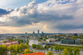 Cityscape of Vilnius, Lithuania. View from the Gediminas' Tower. - PhotoDune Item for Sale